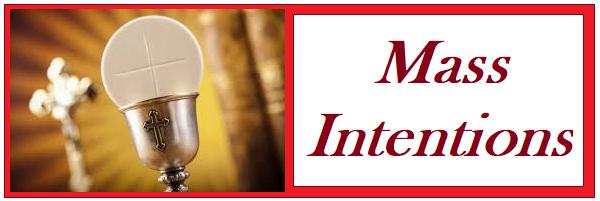 Mass Intentions – Divine Mercy Parish
